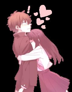 Anime Love Couple PNG Transparent PNG Clip art