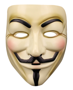 Anonymous Mask PNG Background Photo PNG icons