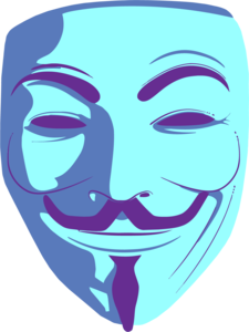 Anonymous Mask PNG Background PNG Clip art