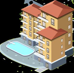 Apartment Transparent PNG PNG Clip art