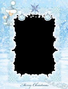 Aqua Border Frame PNG File PNG Clip art