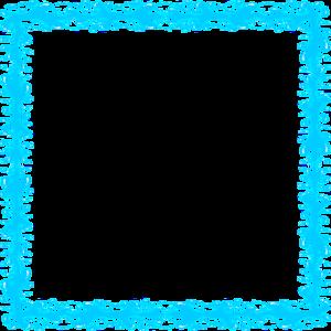 Aqua Border Frame PNG Transparent Image PNG Clip art