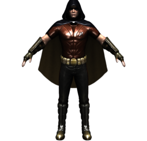 Arkham City Robin Transparent PNG PNG icon