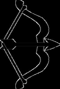 Arrow Bow Transparent Background PNG Clip art