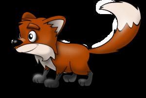 Artistic Fox PNG Pic PNG Clip art