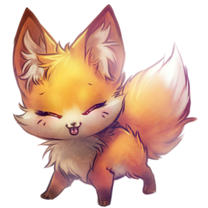 Artistic Fox PNG Picture PNG Clip art