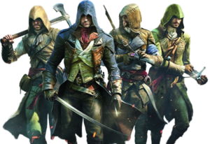Assassins Creed Unity PNG HD PNG Clip art