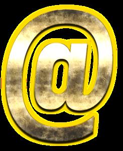At Sign PNG Free Download PNG Clip art