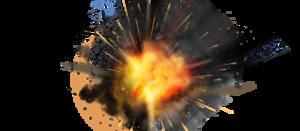 Atomic Explosion Transparent Background PNG Clip art