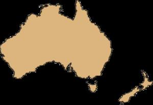 Australia Map Transparent Background PNG Clip art