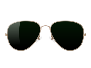 Aviator Sunglass PNG Free Download PNG Clip art