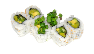 Avocado Roll PNG File PNG Clip art