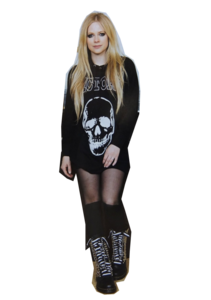 Avril Lavigne Transparent Background PNG Clip art