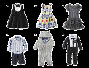 Baby Clothes Transparent Background PNG Clip art