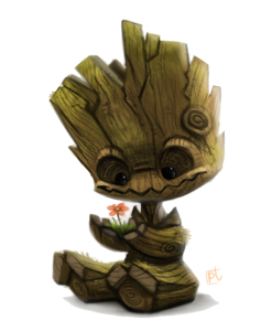 Baby Groot Transparent PNG PNG icons