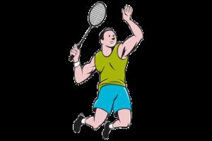 Badminton Player PNG Image PNG Clip art
