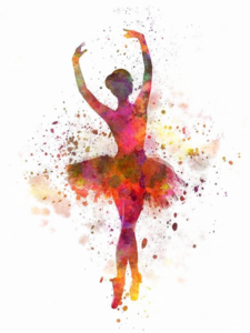 Ballet Dancer Transparent Background PNG Clip art