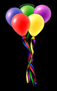 Balloons Transparent Background PNG Clip art