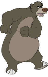 Baloo Background PNG PNG Clip art