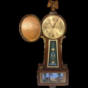 Banjo Clock PNG Clipart PNG Clip art