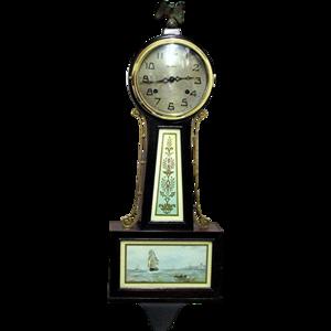Banjo Clock PNG Image PNG Clip art