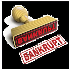 Bankrupt PNG Transparent HD Photo PNG Clip art