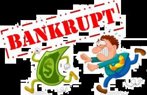 Bankrupt PNG Transparent Image PNG Clip art