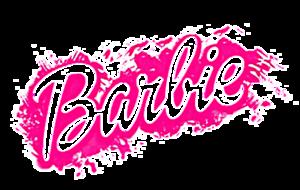 Barbie Logo PNG File PNG Clip art
