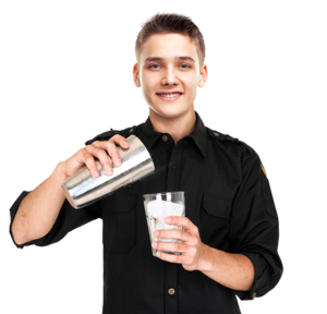 Bartender PNG Image PNG clipart