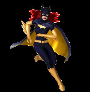 Batgirl Transparent Background PNG Clip art
