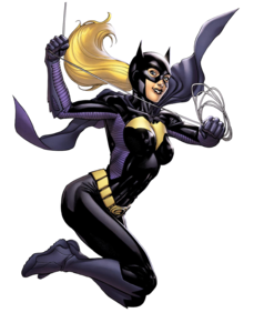 Batgirl Transparent PNG PNG icon