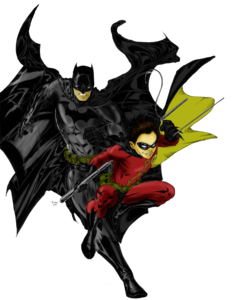 Batman And Robin PNG File PNG Clip art