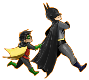 Batman And Robin Transparent PNG PNG Clip art