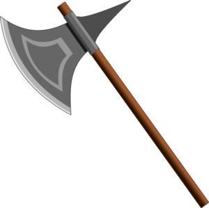 Battle Axe Transparent PNG PNG Clip art