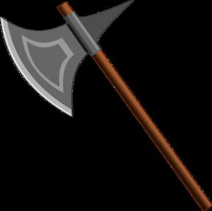 Battle Axe Transparent PNG PNG Clip art