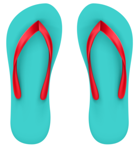 Beach Sandal PNG images