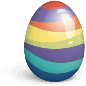 Beautiful Easter Eggs PNG PNG Clip art