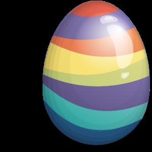 Beautiful Easter Eggs PNG PNG Clip art