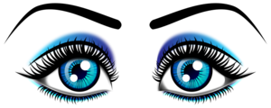 Beautiful Eyes PNG File PNG Clip art