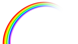 Beautiful Rainbow PNG PNG Clip art
