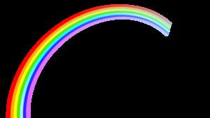Beautiful Rainbow PNG PNG Clip art