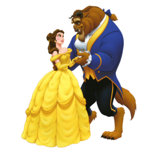 Beauty And The Beast Transparent Background PNG Clip art