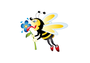 Bee Transparent Background PNG Clip art