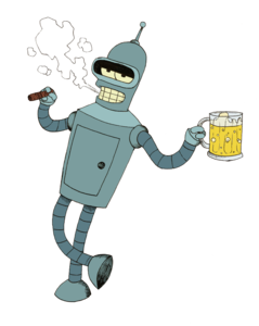Bender Transparent Background PNG Clip art