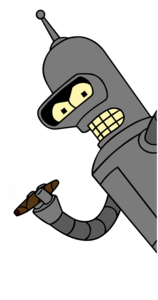 Bender Transparent PNG PNG clipart