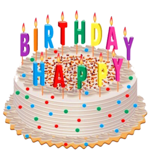 Cake transparent background. Birthday png svg clip