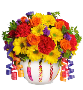 Birthday Flowers Bouquet PNG File PNG Clip art