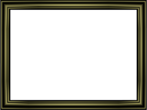 Black Border Frame PNG Transparent Image PNG Clip art