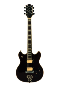 Black Electric Guitar PNG PNG Clip art