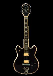 Black Electric Guitar PNG PNG Clip art